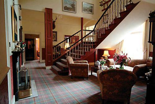 Lounge Castle Hotel Huntly Schottland