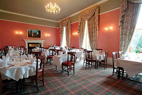 Restaurant : Castle Hotel Huntly Schottland